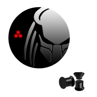 Predator Screw Ear Plug Body Jewellery